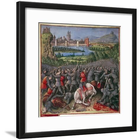 Battle During First Crusade (People's Crusad), 1096-1099-Sebastian Marmoret French-Framed Art Print