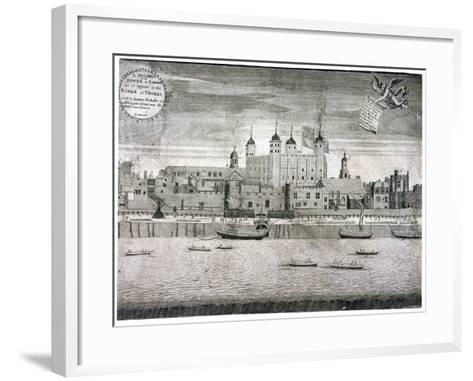 Tower of London, C1750-Sutton Nicholls-Framed Art Print