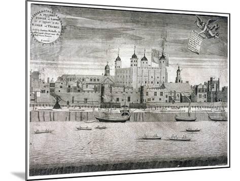 Tower of London, C1750-Sutton Nicholls-Mounted Giclee Print