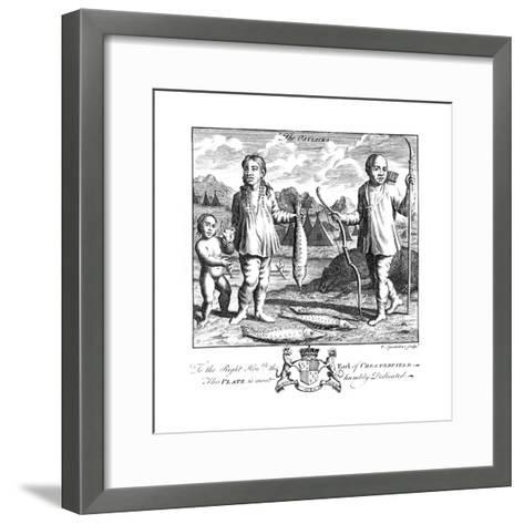 The Ostiacks, 19th Century-T Spendelone-Framed Art Print