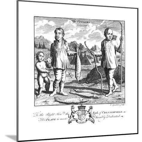 The Ostiacks, 19th Century-T Spendelone-Mounted Giclee Print