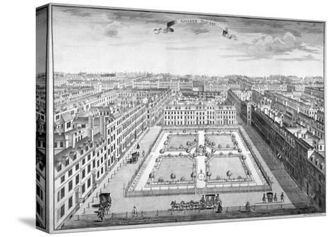 Golden Square, Westminster, London, 1754-Sutton Nicholls-Stretched Canvas Print