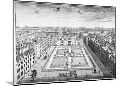 Golden Square, Westminster, London, 1754-Sutton Nicholls-Mounted Giclee Print
