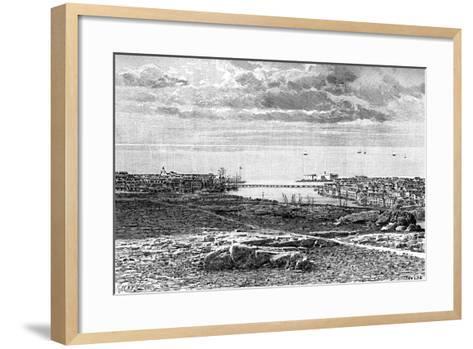 Willemsted, Curacao, Netherlands Antilles, 1895-T Taylor-Framed Art Print