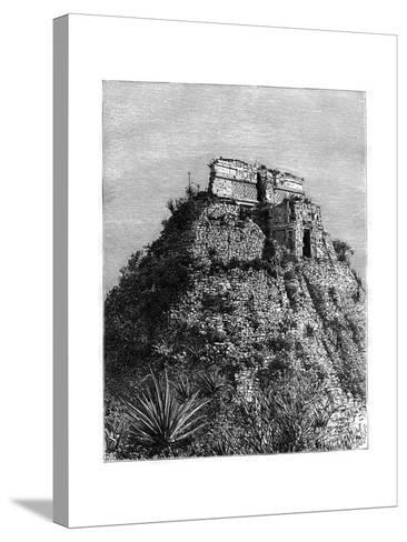 Uxmal, Pre-Columbian Ruined City of the Mayan Civilization, Yucatán, Mexico, 19th Cen-T Taylor-Stretched Canvas Print