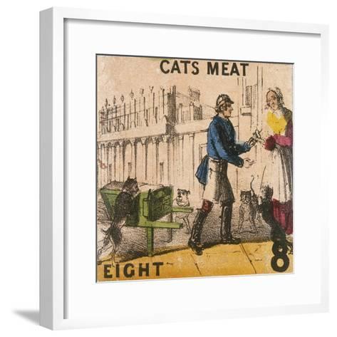 Cats Meat, Cries of London, C1840-TH Jones-Framed Art Print