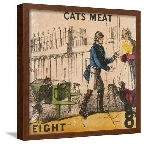 Cats Meat, Cries of London, C1840-TH Jones-Framed Art Print