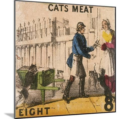 Cats Meat, Cries of London, C1840-TH Jones-Mounted Giclee Print
