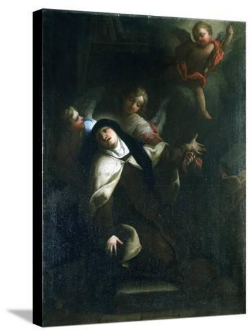 St Theresa of Avila, C1634-1689-Thomas Blanchet-Stretched Canvas Print