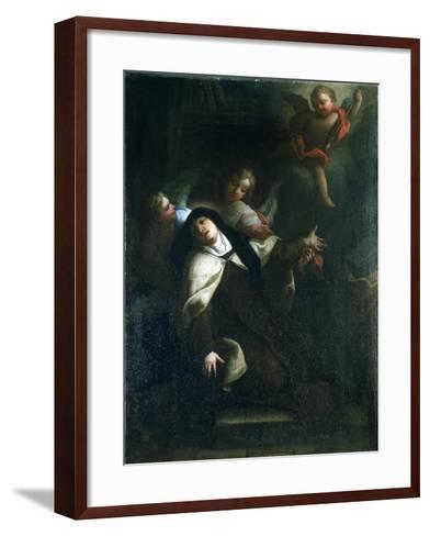 St Theresa of Avila, C1634-1689-Thomas Blanchet-Framed Art Print