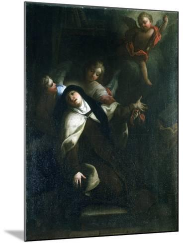 St Theresa of Avila, C1634-1689-Thomas Blanchet-Mounted Giclee Print