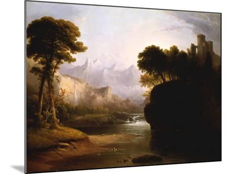 Fanciful Landscape, 1834-Thomas Doughty-Mounted Giclee Print