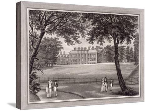 Kensington Gardens, Kensington, London, 1823-T Vivares-Stretched Canvas Print