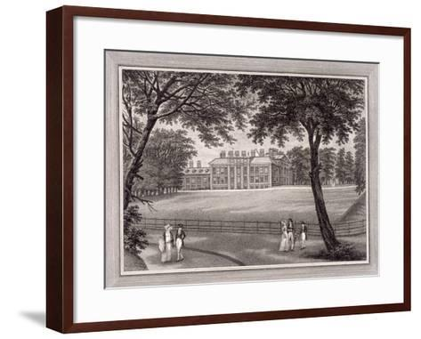 Kensington Gardens, Kensington, London, 1823-T Vivares-Framed Art Print