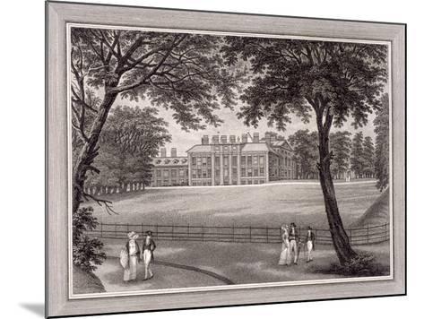 Kensington Gardens, Kensington, London, 1823-T Vivares-Mounted Giclee Print