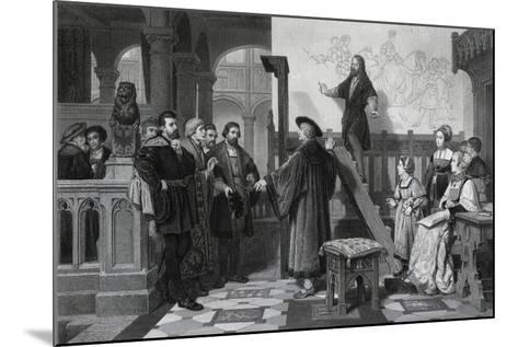 The Emperor Maximilian and Albrecht Durer, Early 16th Century-Thomas Brown-Mounted Giclee Print