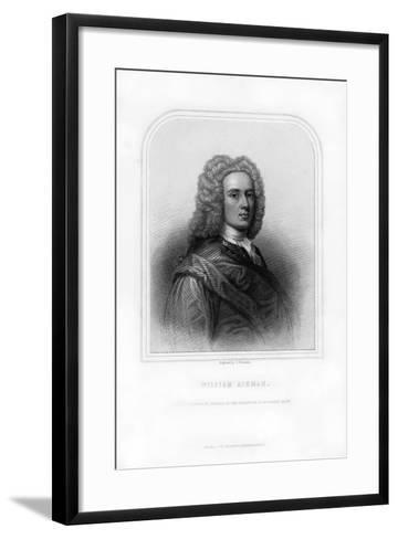 William Aikman, Eminent Scottish Portrait Painter-S Freeman-Framed Art Print