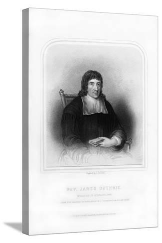 Reverend James Guthrie, Minister of Stirling, 1661-S Freeman-Stretched Canvas Print