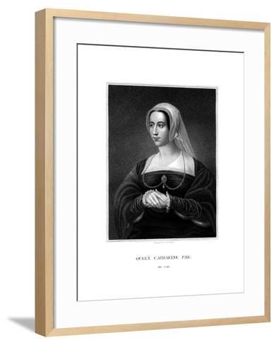 Catherine Parr, Queen Consort of Henry VIII-S Freeman-Framed Art Print