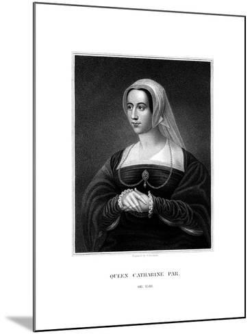 Catherine Parr, Queen Consort of Henry VIII-S Freeman-Mounted Giclee Print