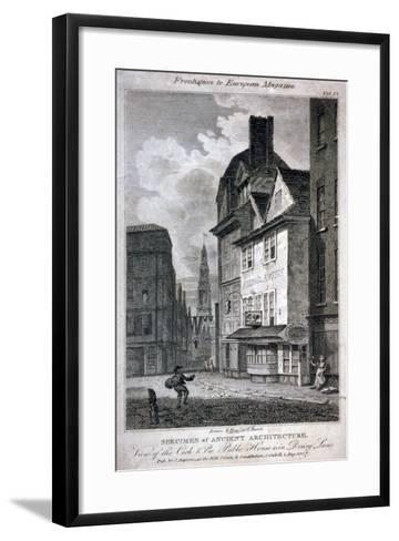 The Cock and Magpie Public House, Drury Lane, Westminster, London, 1807-Samuel Rawle-Framed Art Print