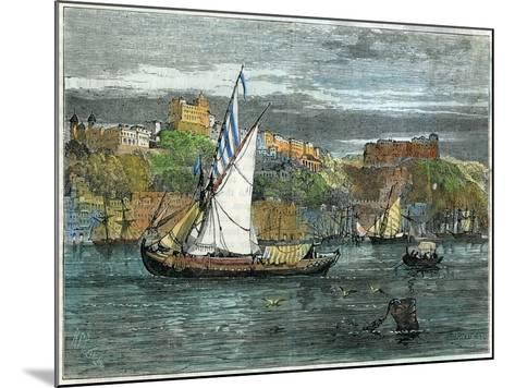 View of Oporto, Portugal, C1880- Swain-Mounted Giclee Print