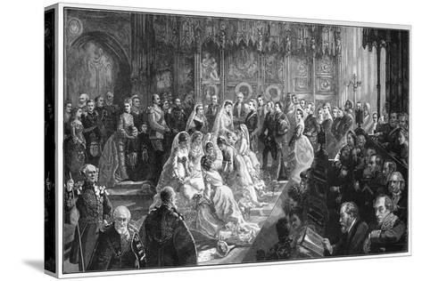 The Marriage of Princess Louise, 21 March 1871-Sydney Prior Hall-Stretched Canvas Print
