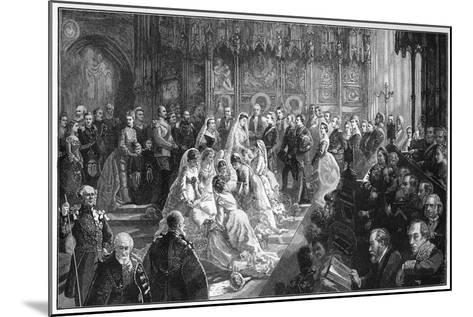 The Marriage of Princess Louise, 21 March 1871-Sydney Prior Hall-Mounted Giclee Print