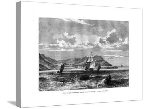 Cap Tiburon, Haiti, 19th Century-T Weber-Stretched Canvas Print