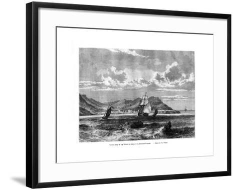 Cap Tiburon, Haiti, 19th Century-T Weber-Framed Art Print