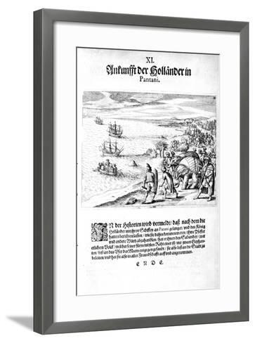Invasion by Vice Admiral Sebold, 1606-Theodore de Bry-Framed Art Print