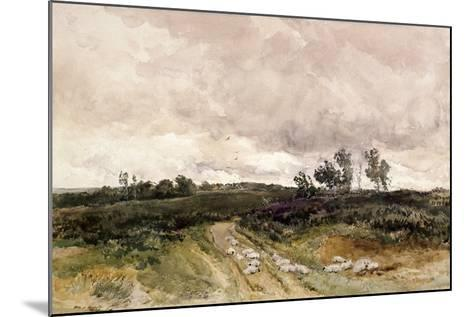 Moorland Scene, 1878-Thomas Collier-Mounted Giclee Print