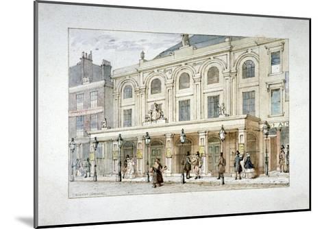 Surrey Theatre and Surrey Coffee House on Blackfriars Road, Southwark, London, C1835-Thomas Hosmer Shepherd-Mounted Giclee Print