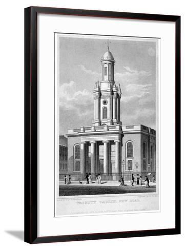 Trinity Church, Euston Road, St Pancras, London, 1828-Thomas Hosmer Shepherd-Framed Art Print