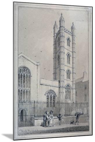 Church of St Mary Aldermary, City of London, 1830-Thomas Hosmer Shepherd-Mounted Giclee Print