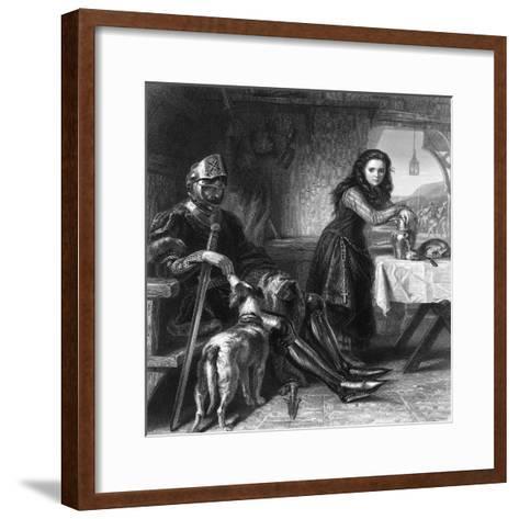 The Maid of Orleans, C1870S-T Ballin-Framed Art Print