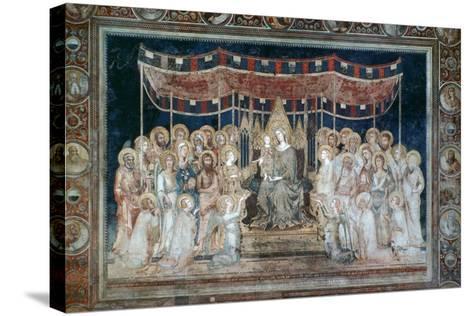 Maesta, 1315-Simone Martini-Stretched Canvas Print