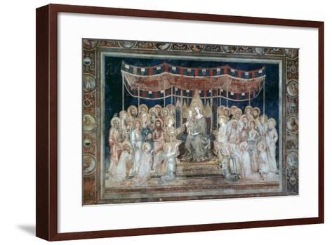Maesta, 1315-Simone Martini-Framed Art Print