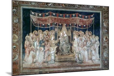 Maesta, 1315-Simone Martini-Mounted Giclee Print