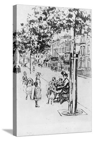 Chelsea Children, 1913-Theodore Roussel-Stretched Canvas Print