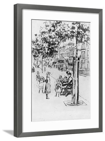 Chelsea Children, 1913-Theodore Roussel-Framed Art Print