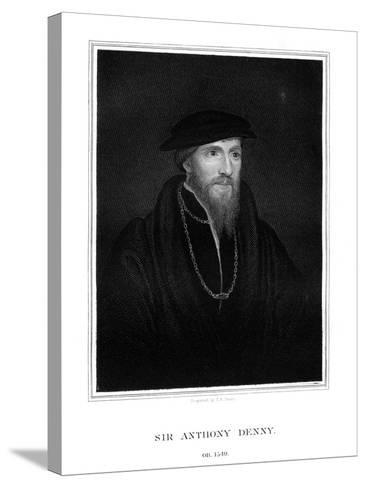 Sir Anthony Denny, Courtier of Henry VIII-TA Dean-Stretched Canvas Print