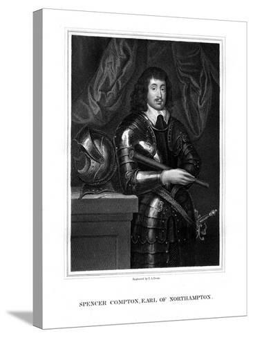 Spencer Compton, 2nd Earl of Northampton, Royalist Soldier-TA Dean-Stretched Canvas Print