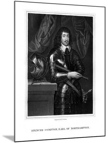 Spencer Compton, 2nd Earl of Northampton, Royalist Soldier-TA Dean-Mounted Giclee Print