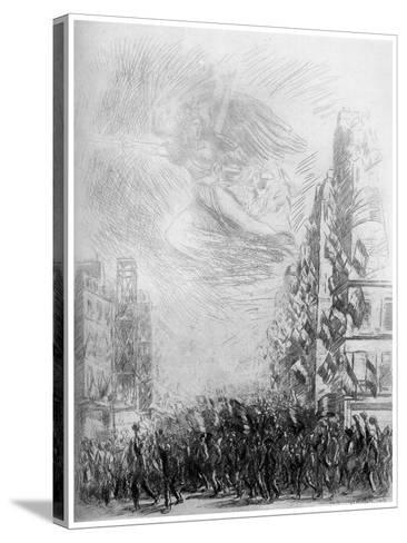 2nd August, C1840-1900-Theophile Steinlen-Stretched Canvas Print