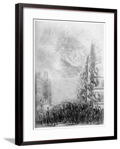 2nd August, C1840-1900-Theophile Steinlen-Framed Art Print