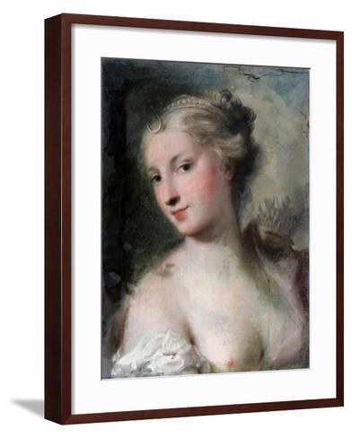 Diana, after 1746-Rosalba Giovanna Carriera-Framed Art Print