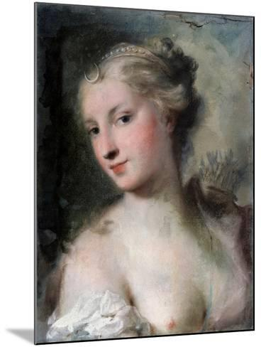 Diana, after 1746-Rosalba Giovanna Carriera-Mounted Giclee Print