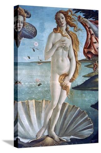 The Birth of Venus (Detail), C1485-Sandro Botticelli-Stretched Canvas Print