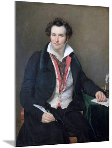 Portrait of Bernard Wolf, C1823-Sophie Rude-Mounted Giclee Print